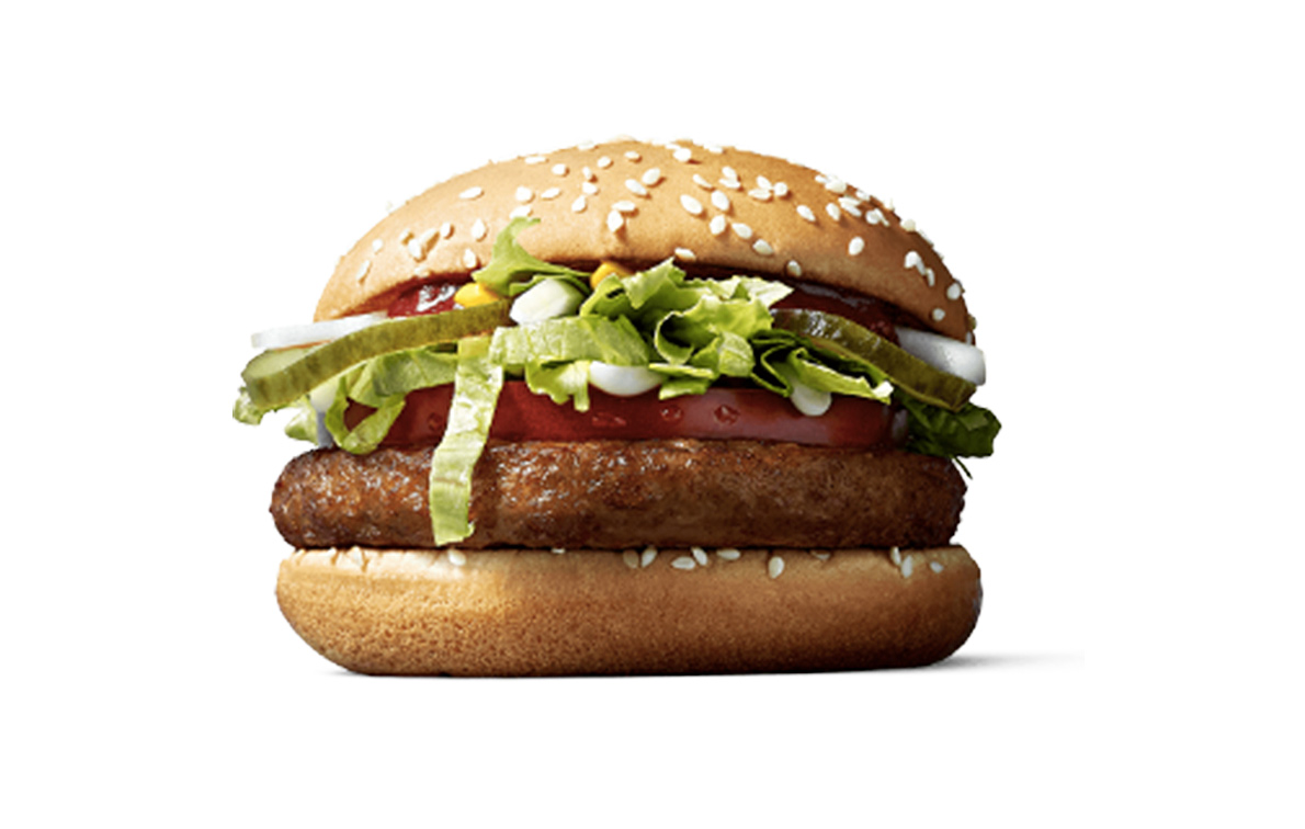 McDonald's is testing out a new vegan burger