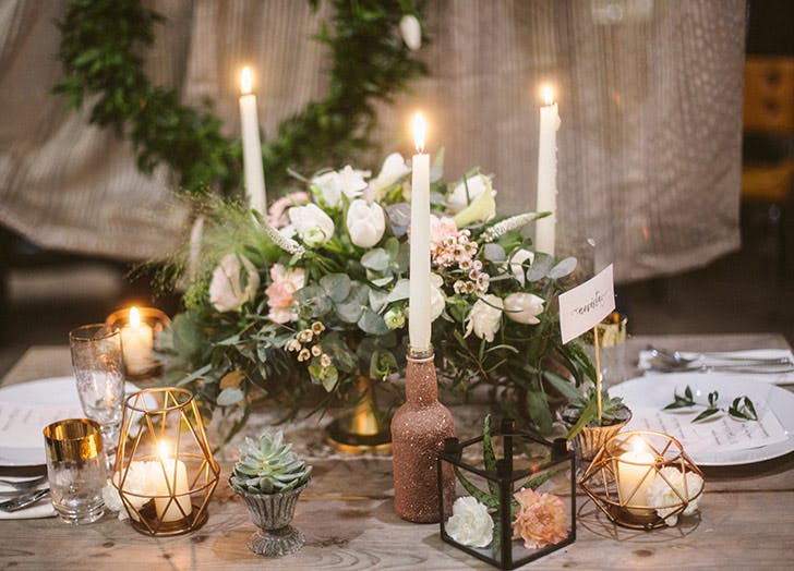 microwedding table LIST