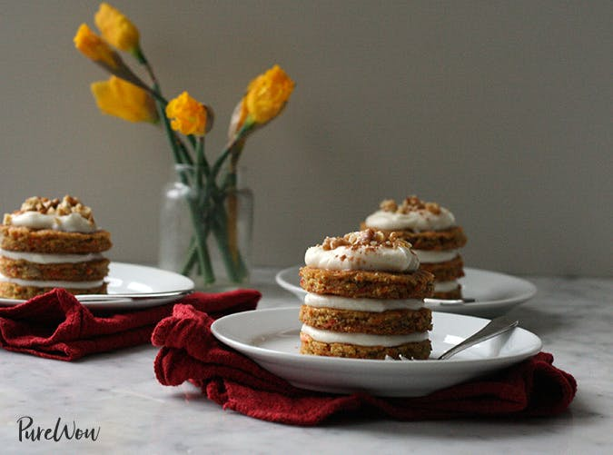 mini carrot cakes cream cheese frosting 501