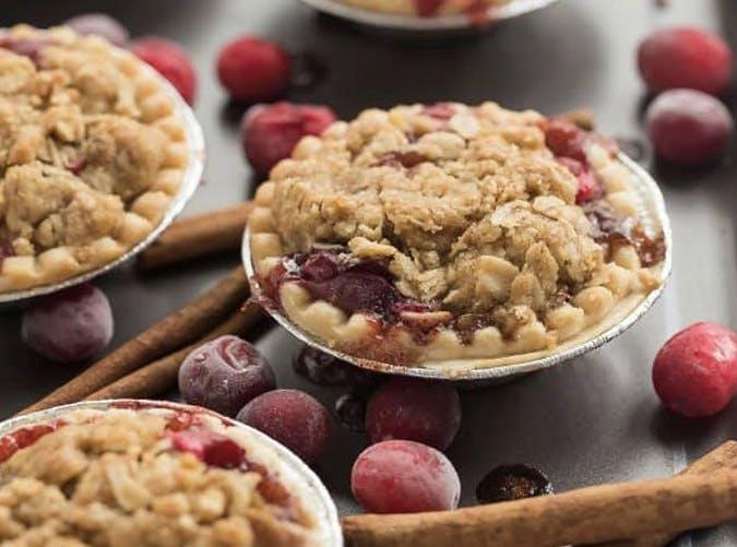 mini cider spiced cranberry apple pies recipe 501