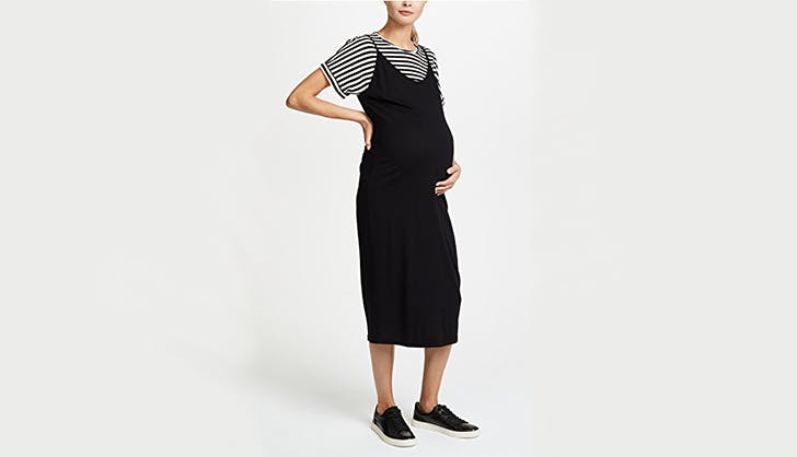 monrow dress maternity clothing