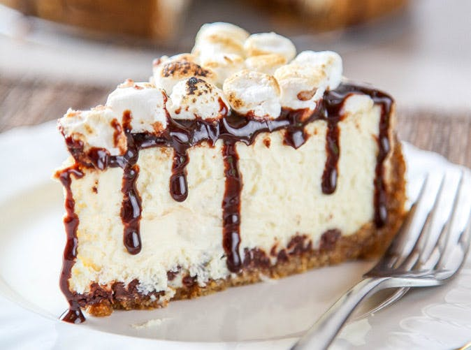 no bake smores cheesecake 501