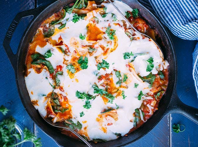 one pan lasagna 501