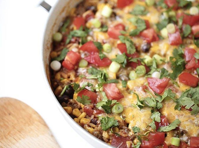 onepot burrito bowl SLIDE