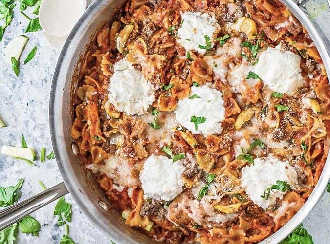 onepot lasagna SLIDE