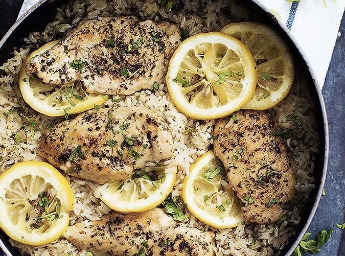 onepot lemon chicken SLIDE