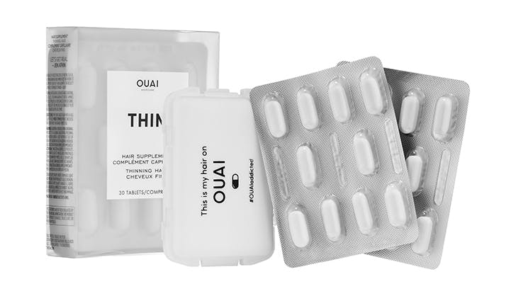 ouai replenishing thinning hair products for women