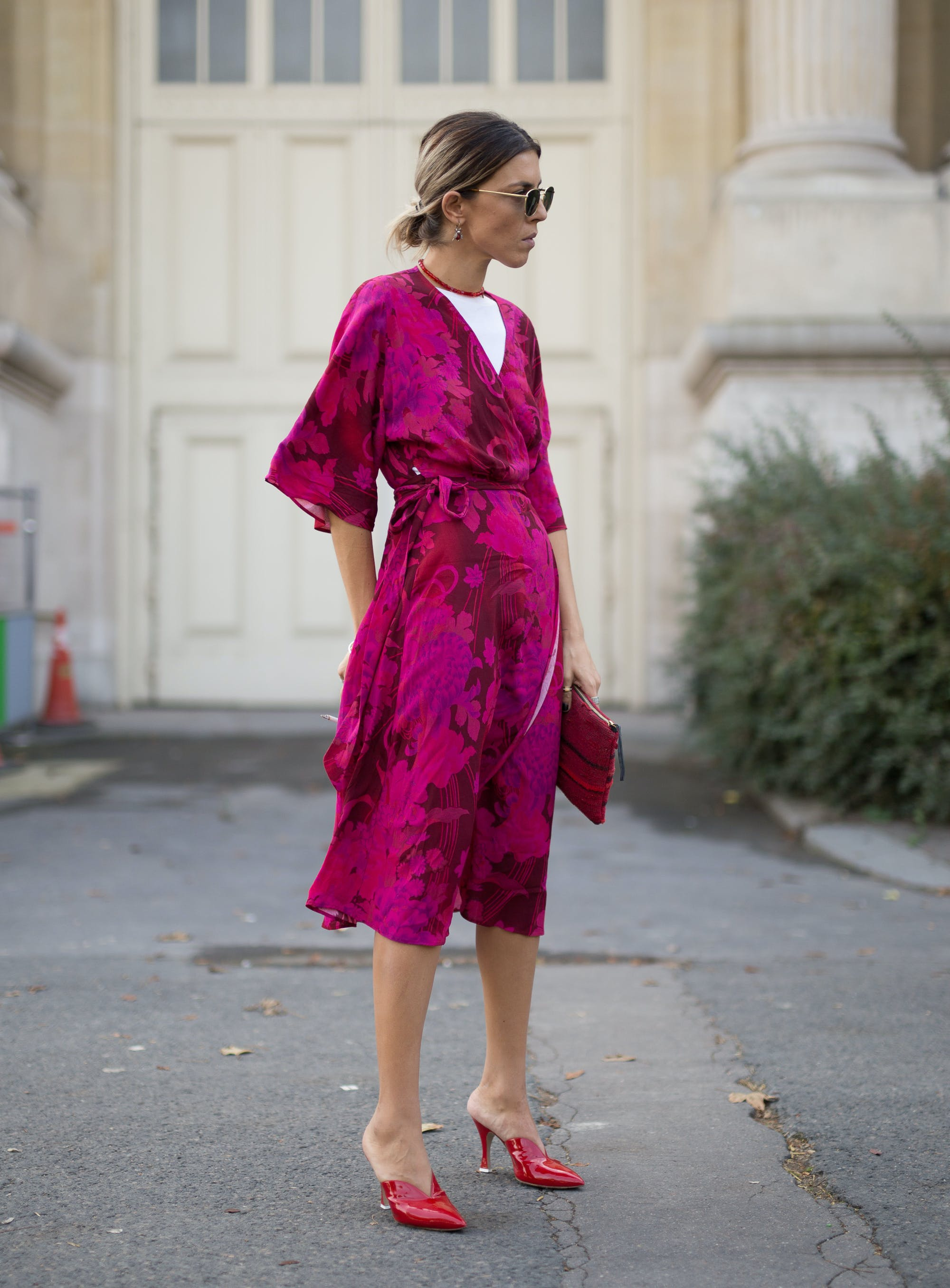 paris street style robe dress