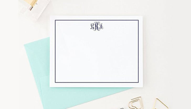 personalized stationary amazon homemade shop