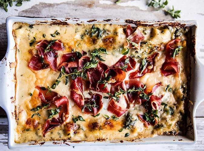 prosciutto white lasagna 501