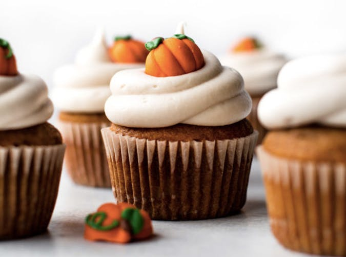 pumpkin cupcakes with cream cheese frosting recipe 501