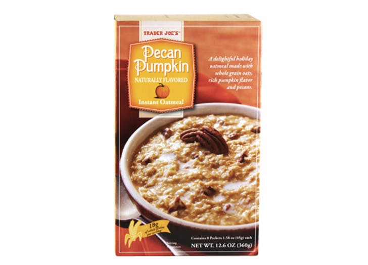 pumpkin oatmeals