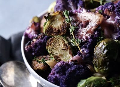 purple cauliflower recipes CAR