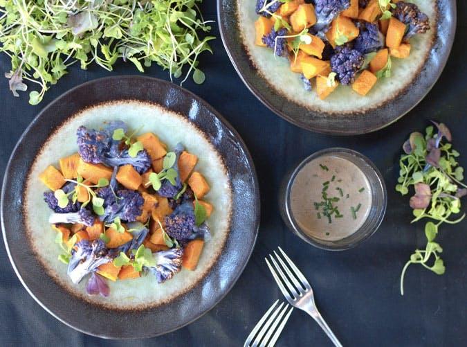 purple cauliflower sweet potato SLIDE