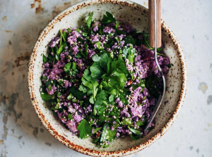 purple cauliflower tabbouleh SLIDE