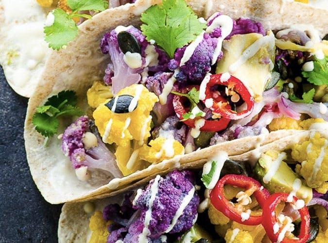 purple cauliflower tacos SLIDE