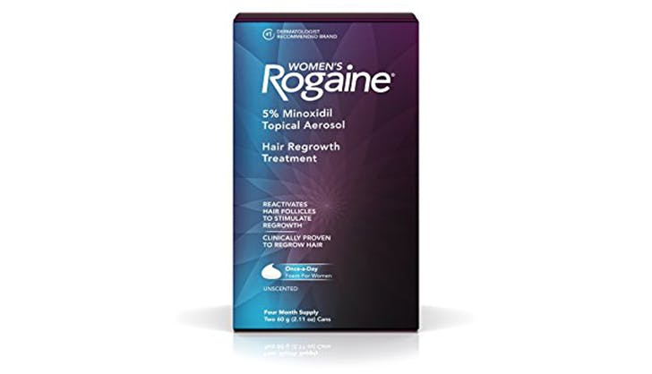 rogaine replenishing thinning hair products for women