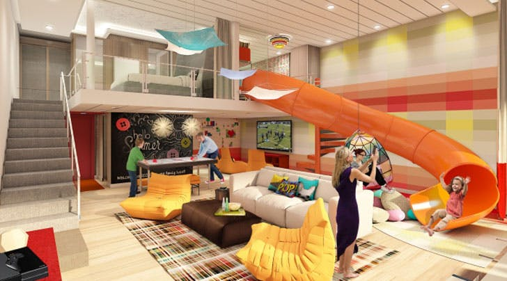 The Family Suite Aboard the World's Biggest Cruise Ship Is What Vacation Dreams Are Made Of