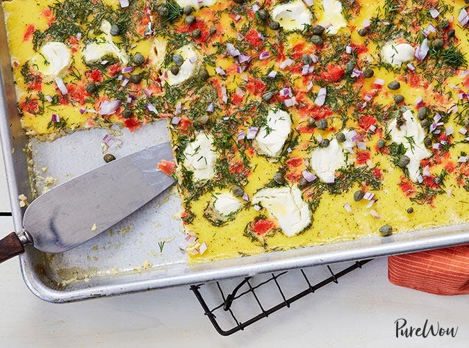 sheet pan eggs recipe SLIDE