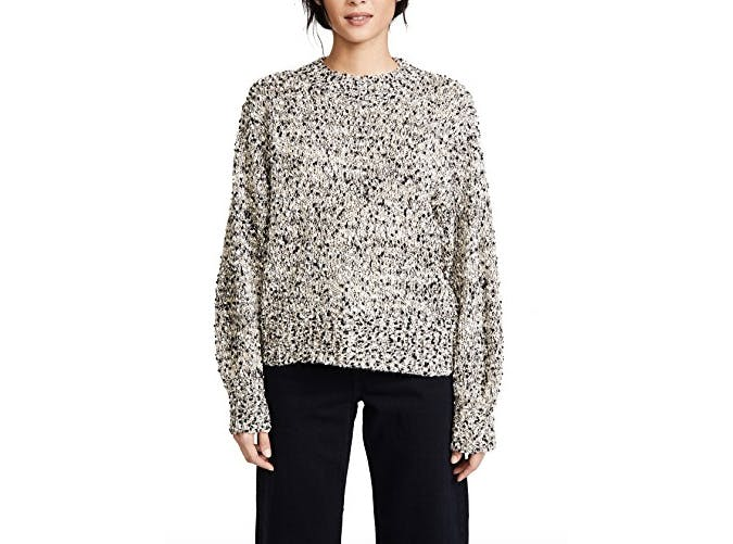 shopbop marled sweater  39