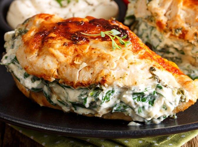 spinach cream cheese stuffed chicken 501