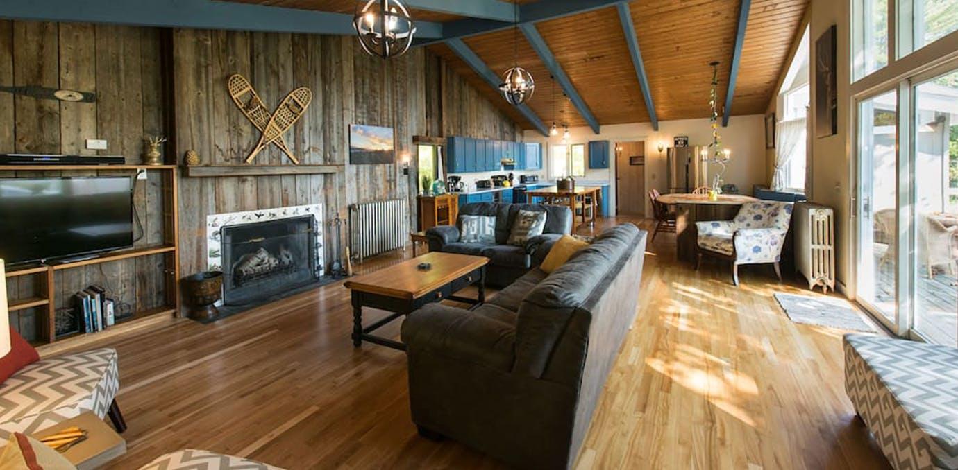 stowe vermont ski rental airbnb