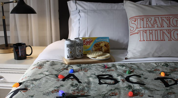 Do Not Disturb: This 'Stranger Things Hotel Room Is a Binge-Watching Dream Come True