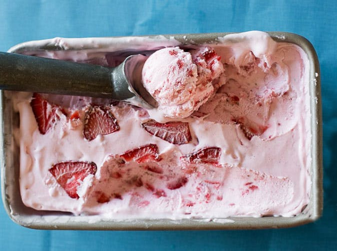 strawberry ice cream recipe 501