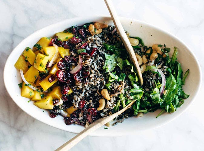 thanksgiving salad with wild rice 501