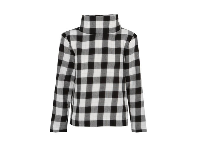 tibi gingham sweater  25