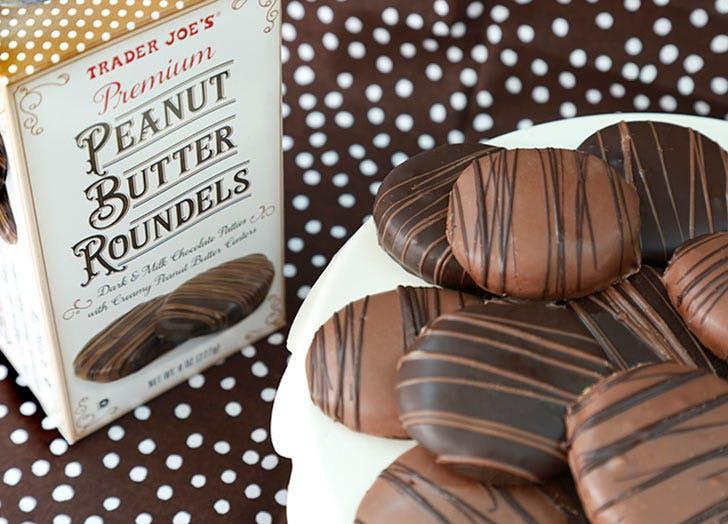 trader joes peanut butter roundels 524