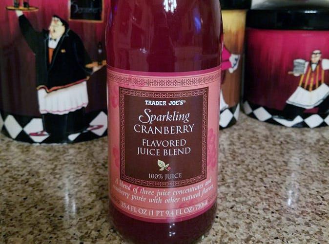trader joes sparkling cranberry blend 501