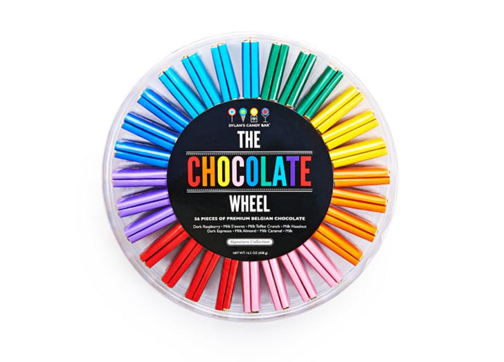 under 50 gift guide chocolate wheel