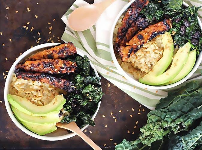 vegansavory oatmeal tempeh bacon 501