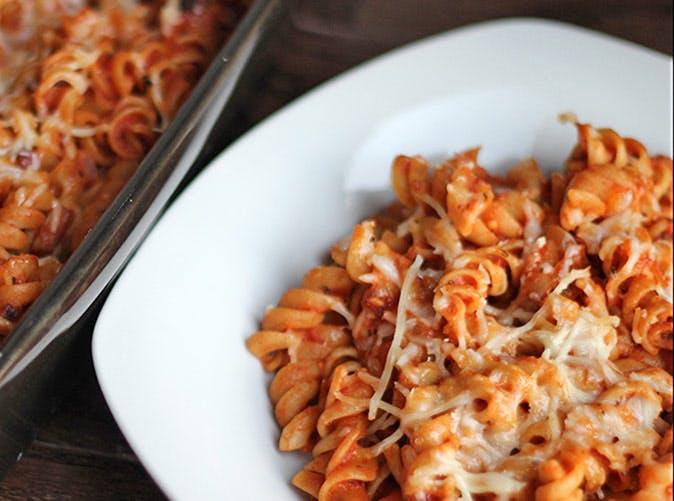 veggie pasta 501