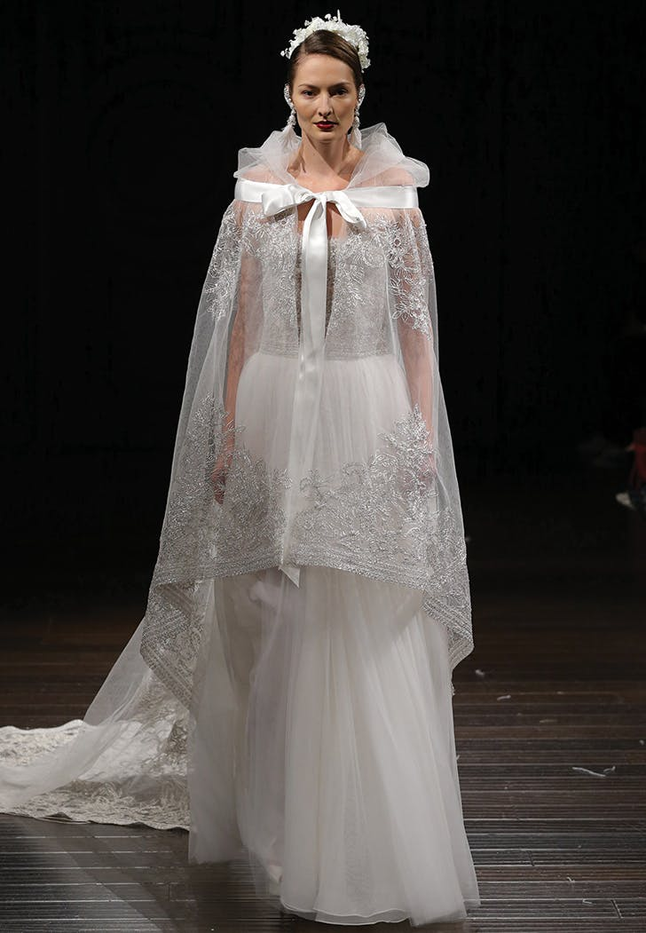 wedding trend cape