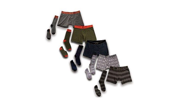 weekday underwear set for him travel gift guide