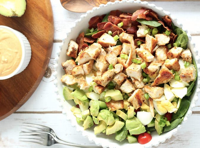 whole30 lunches cobb salad SLIDE