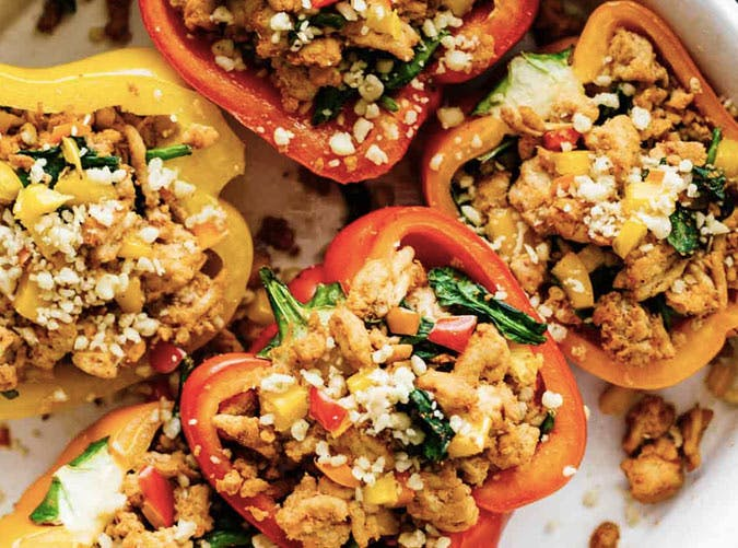 whole30 lunches stuffed peppers SLIDE