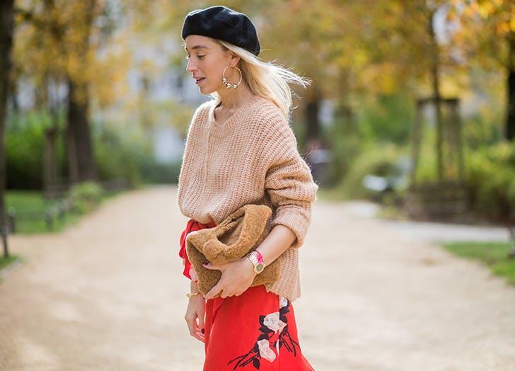 winter hat trends beret