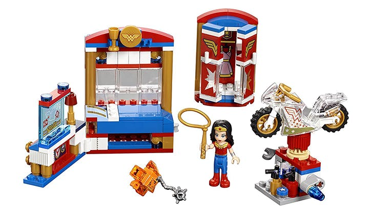 wonder woman legos hot toys gift guide