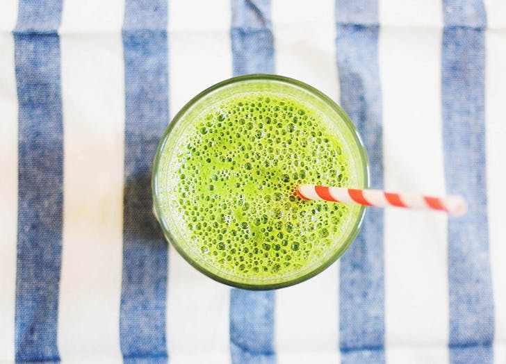 yoga instructor diet smoothie