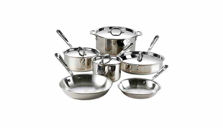 All Clad Stainless Steel Set
