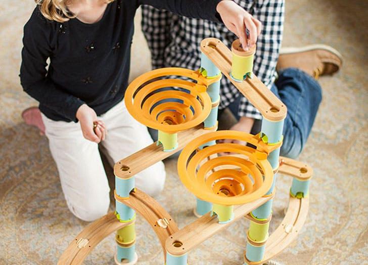 Bamboo Builder Marble Run Kids Gift