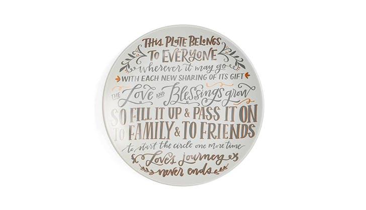Blessing Platter