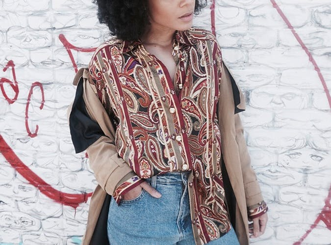 Bohemian Blouse Style Upgrade on a Budget