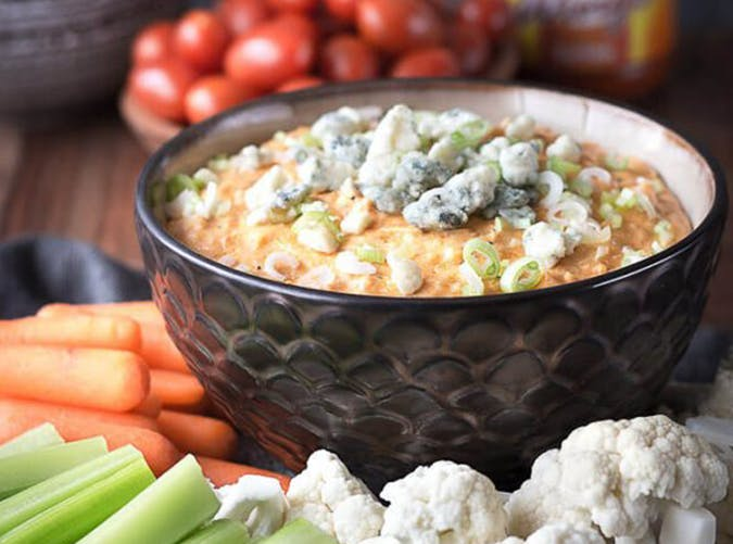 Buffalo Chicken Dip ketogenic slow cooker recipes