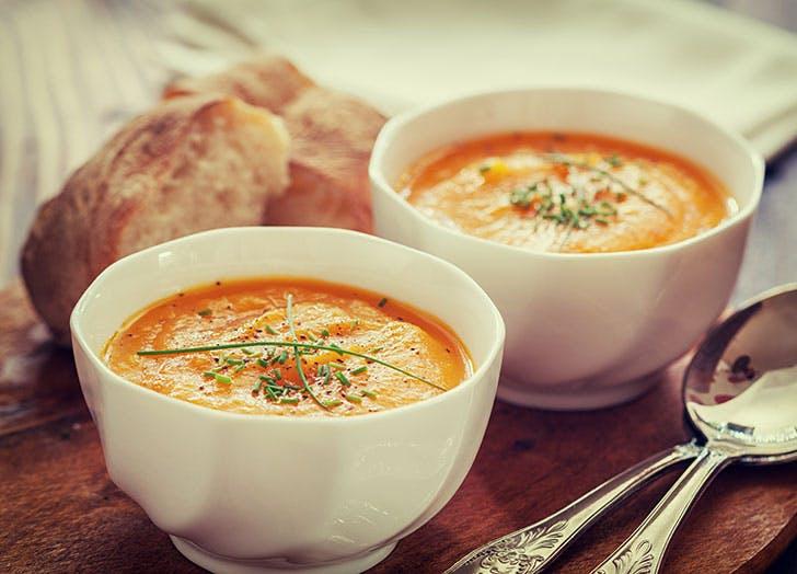 Butternut Squash soup bowls