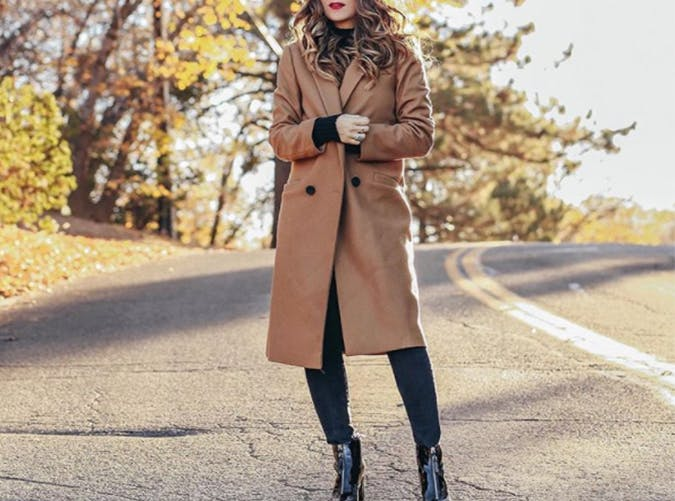 Camel Coat Style Upgrade on a Budget
