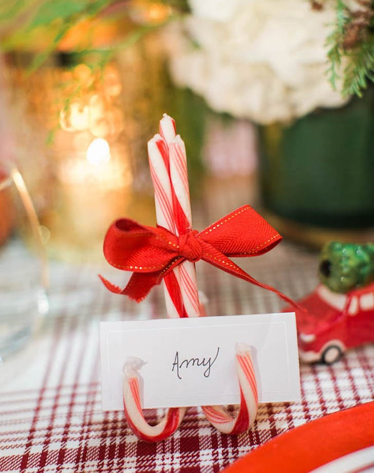 Candy cane craft holiday trend